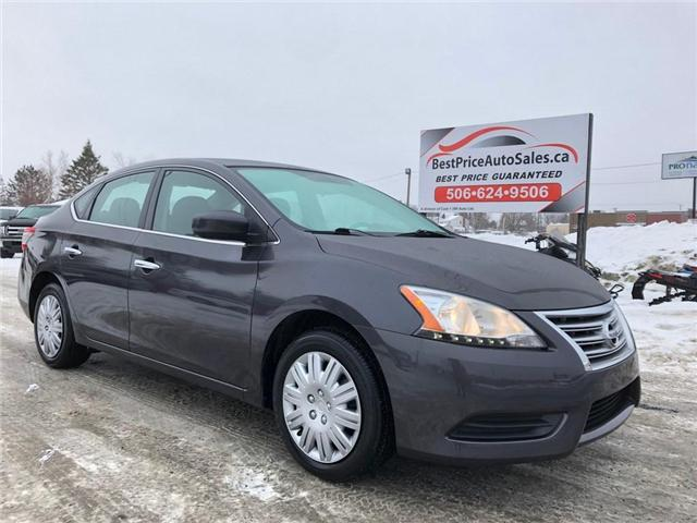 2013 Nissan Sentra  (Stk: A2656) in Miramichi - Image 1 of 24