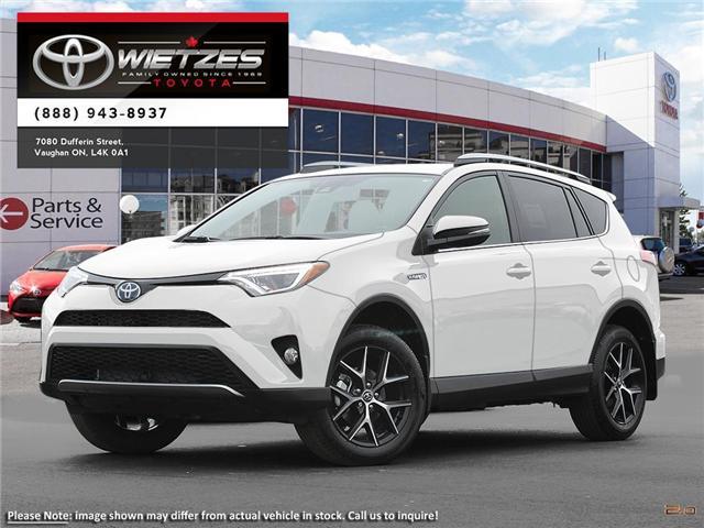 2018 Toyota RAV4 AWD Hybrid SE (Stk: 67757) in Vaughan - Image 1 of 22