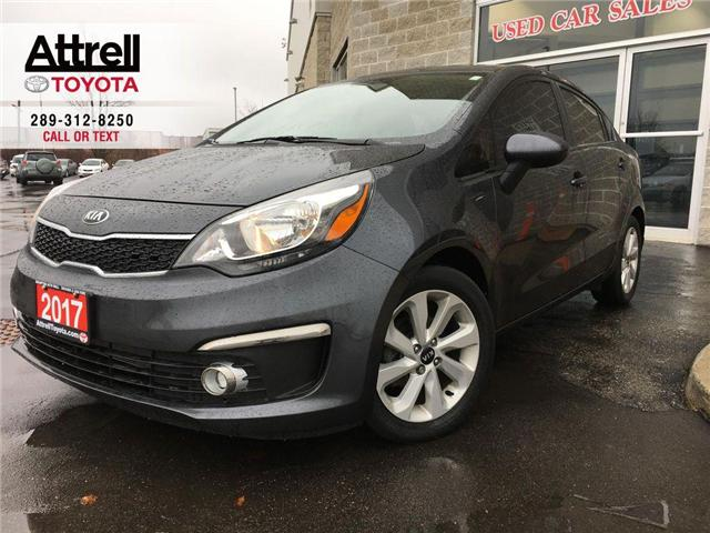 2017 Kia Rio EX ALLOYS, FOG LAMPS, USB, TINTED, BACK UP CAMERA, (Stk: 42249A) in Brampton - Image 1 of 26