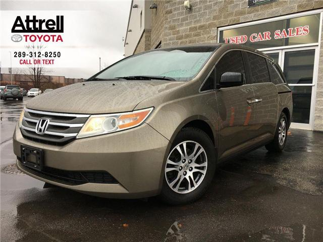 2012 Honda Odyssey EX 8 PASS, DVD, ALLOYS, POWER SLIDDING DOORS, POWE (Stk: 42773A) in Brampton - Image 1 of 16