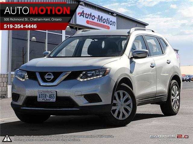 2016 Nissan Rogue  (Stk: 18404) in Chatham - Image 1 of 27