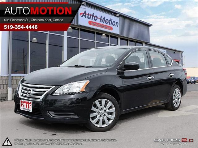 2015 Nissan Sentra  (Stk: 18726) in Chatham - Image 1 of 27