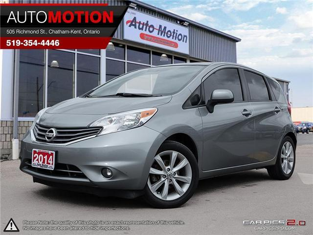 2014 Nissan Versa Note S (Stk: 18854) in Chatham - Image 1 of 27