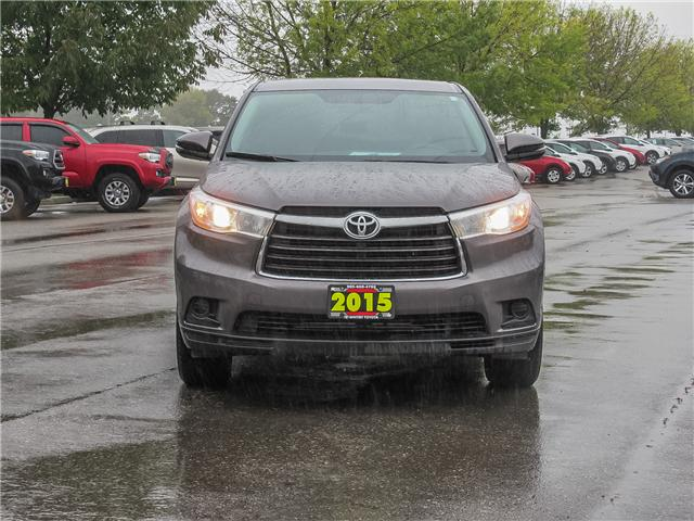 2015 Toyota Highlander  (Stk: 80822A) in Whitby - Image 2 of 19