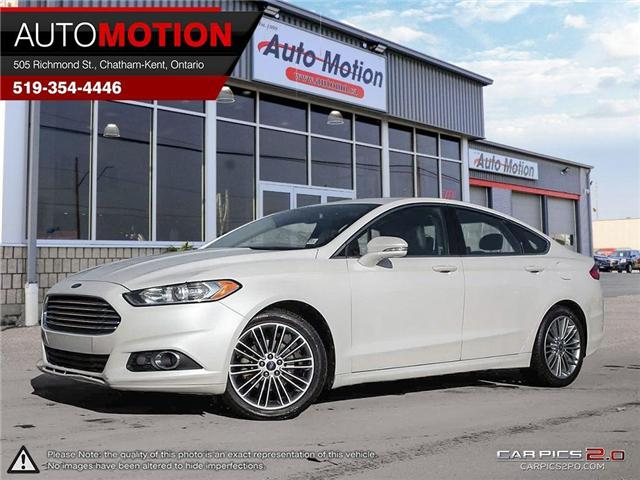 2013 Ford Fusion SE (Stk: 181209) in Chatham - Image 1 of 27