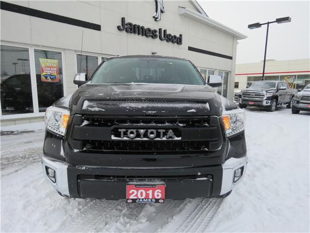 2016 Toyota Tundra Limited 5.7L V8 (Stk: N18523A) in Timmins - Image 2 of 9