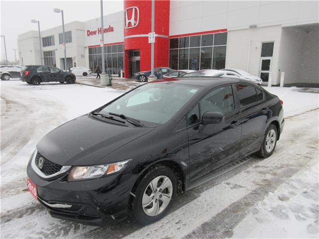 2015 Honda Civic LX (Stk: SS3279) in Ottawa - Image 1 of 10