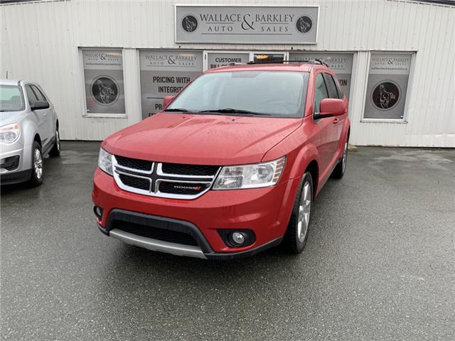 2012 Dodge Journey SXT & Crew (Stk: NEWFOUNDLAND) in Truro - Image 1 of 8