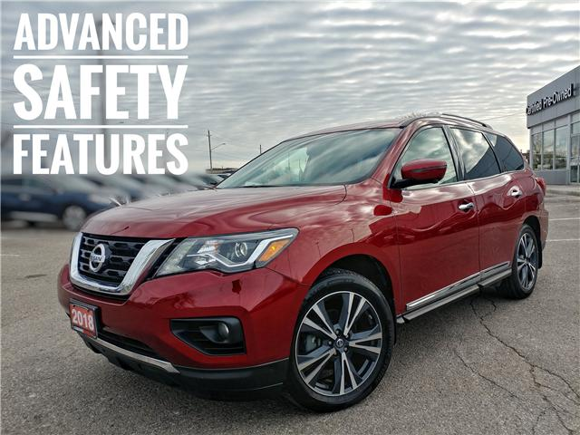 2018 Nissan Pathfinder Platinum (Stk: JC641237) in Cobourg - Image 1 of 39