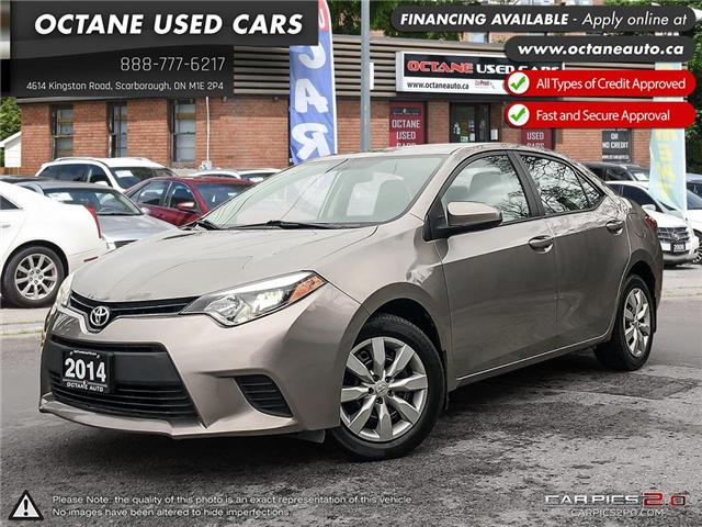 2014 Toyota Corolla LE ECO (Stk: ) in Scarborough - Image 1 of 25