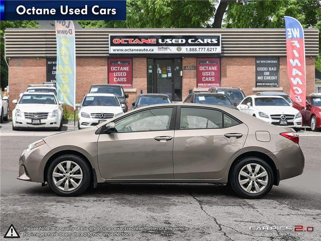 2014 Toyota Corolla LE ECO (Stk: ) in Scarborough - Image 3 of 25