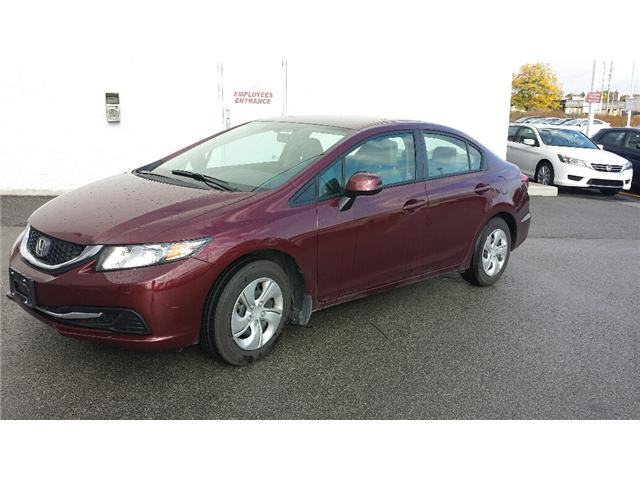 2013 Honda Civic LX (Stk: 306386) in Burlington - Image 1 of 5