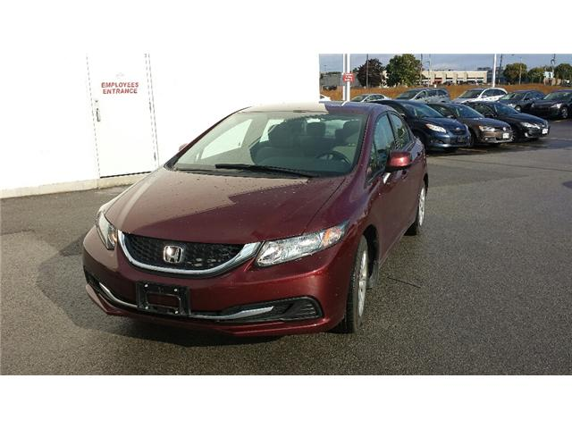 2013 Honda Civic LX (Stk: 306386) in Burlington - Image 2 of 5