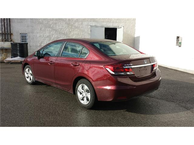 2013 Honda Civic LX (Stk: 306386) in Burlington - Image 3 of 5