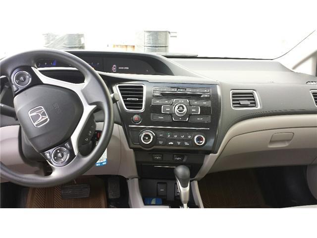 2013 Honda Civic LX (Stk: 306386) in Burlington - Image 4 of 5