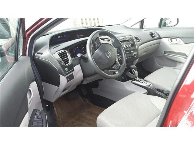 2013 Honda Civic LX (Stk: 306386) in Burlington - Image 5 of 5