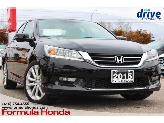 2015 Honda Accord Touring V6 (Stk: B10691) in Scarborough - Image 1 of 36
