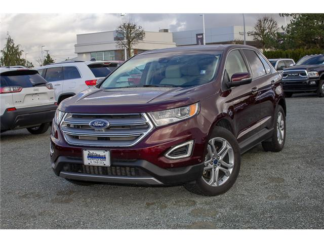 2017 Ford Edge Titanium (Stk: JT836410A) in Abbotsford - Image 3 of 28
