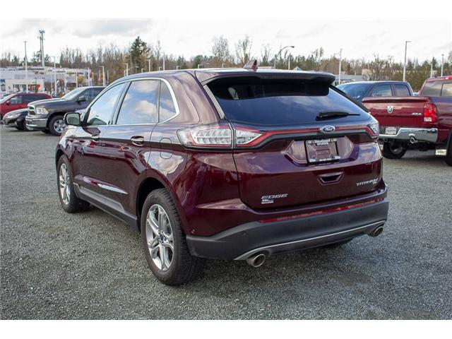 2017 Ford Edge Titanium (Stk: JT836410A) in Abbotsford - Image 5 of 28