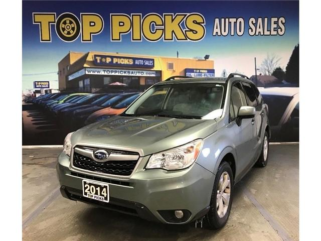 2014 Subaru Forester i (Stk: 444155) in NORTH BAY - Image 1 of 28