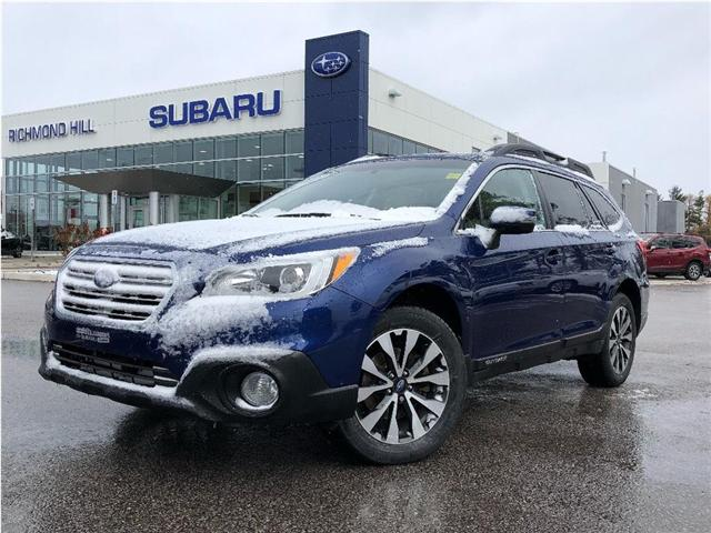 2016 Subaru Outback 3.6R Limited Package (Stk: P03762) in RICHMOND HILL - Image 1 of 26