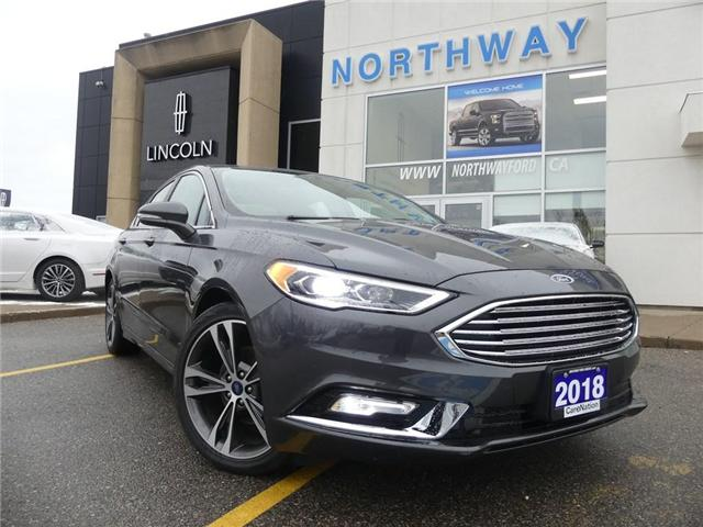 2018 Ford Fusion Titanium |LIKE NEW|NAV|LEATHER|MOON ROOF|REAR CAM| (Stk: P5073) in Brantford - Image 2 of 26