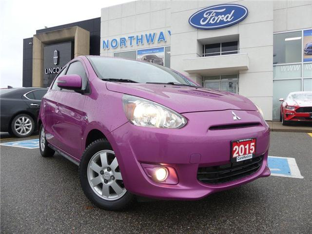 2015 Mitsubishi Mirage SE | LOW KM | HEATED SEATS | BLUETOOTH | (Stk: P4935A) in Brantford - Image 2 of 24
