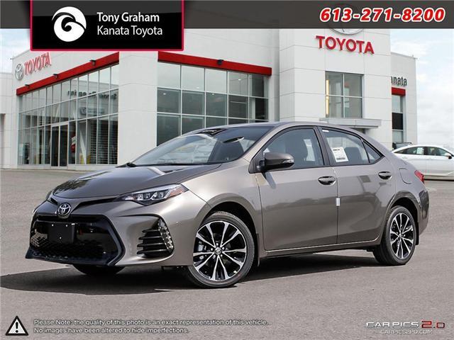 2019 Toyota Corolla SE Upgrade Package (Stk: 88972) in Ottawa - Image 1 of 28