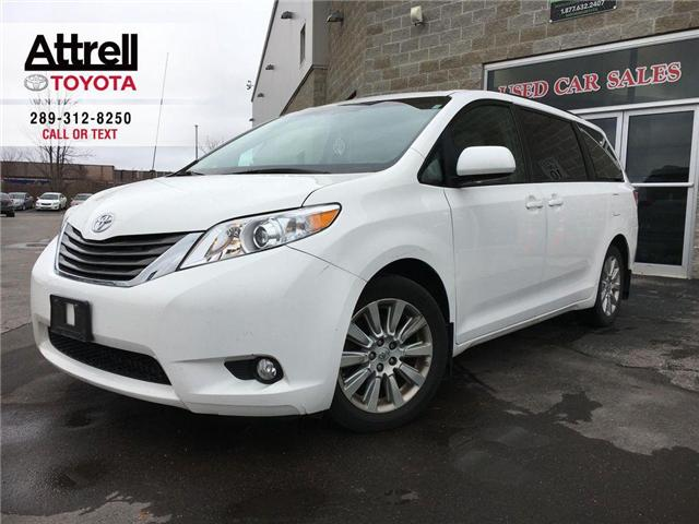 2014 Toyota SIENNA XLE FWD BLIND SPOT MONITOR, SUNROOF, LEATHER, ALLO (Stk: 42850A) in Brampton - Image 1 of 27