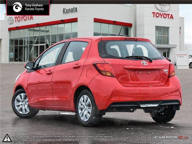 2017 Toyota Yaris LE (Stk: B2825) in Ottawa - Image 4 of 26