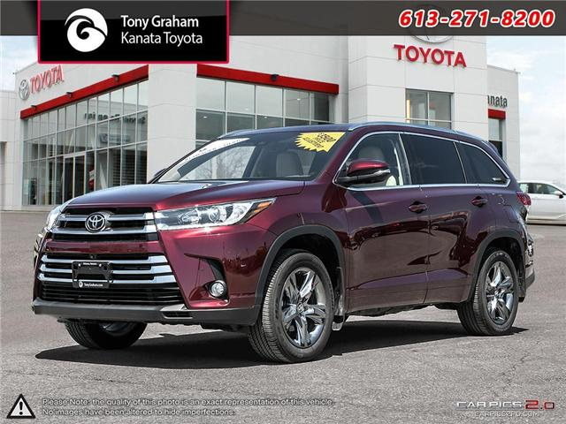 2017 Toyota Highlander Limited (Stk: 87894) in Ottawa - Image 1 of 26