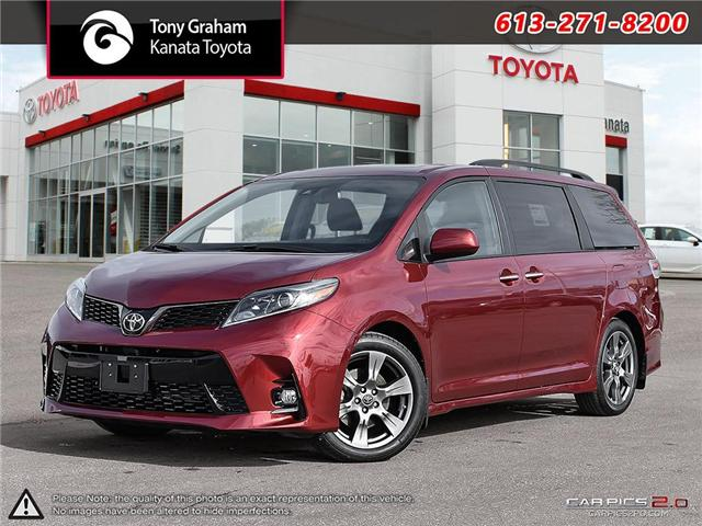 2019 Toyota Sienna Technology Package (Stk: 89062) in Ottawa - Image 1 of 29