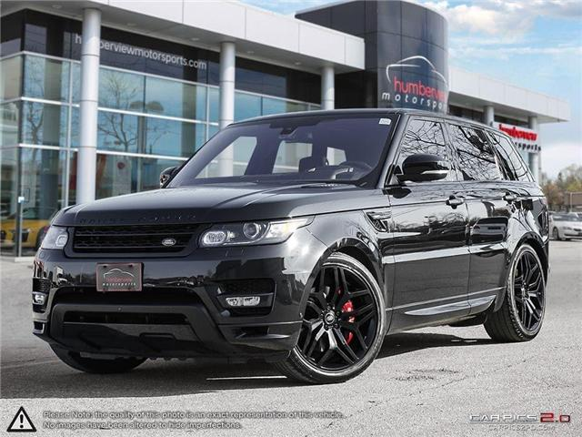2016 Land Rover Range Rover Sport HST LE (Stk: 18HMS732) in Mississauga - Image 1 of 27