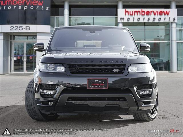 2016 Land Rover Range Rover Sport HST LE (Stk: 18HMS732) in Mississauga - Image 2 of 27