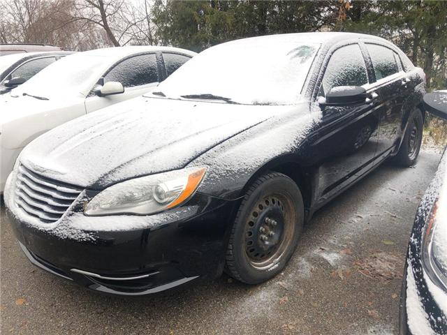 2013 Chrysler 200 LX (Stk: HD18009A) in Woodstock - Image 1 of 7