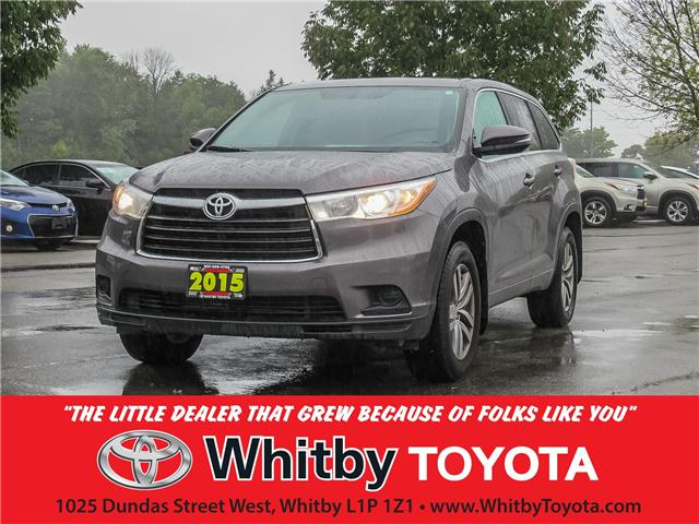 2015 Toyota Highlander  (Stk: 80822A) in Whitby - Image 1 of 19