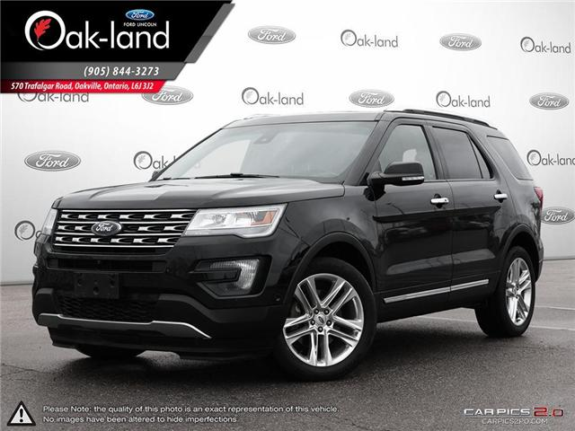 2016 Ford Explorer Limited (Stk: R3356A) in Oakville - Image 1 of 27