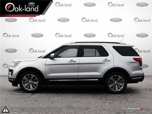 2018 Ford Explorer Limited (Stk: A3103) in Oakville - Image 3 of 27