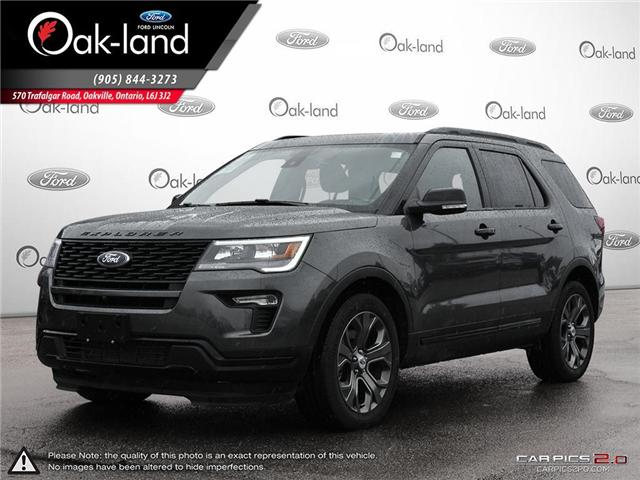 2018 Ford Explorer Sport (Stk: A3102) in Oakville - Image 1 of 24