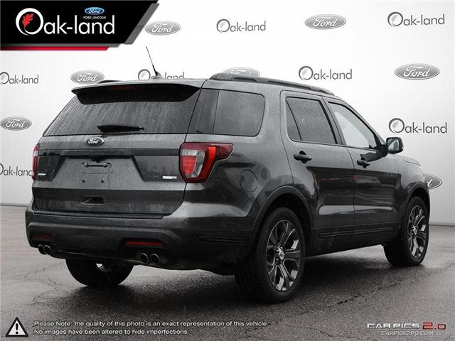 2018 Ford Explorer Sport (Stk: A3102) in Oakville - Image 4 of 24