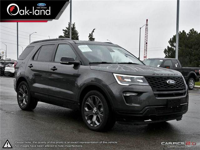 2018 Ford Explorer Sport (Stk: A3102) in Oakville - Image 6 of 24