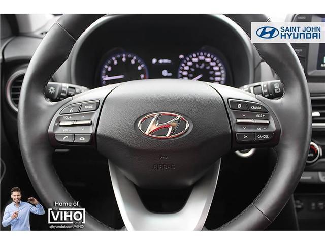 2018 Hyundai KONA 2.0L Luxury (Stk: U1971) in Saint John - Image 11 of 23