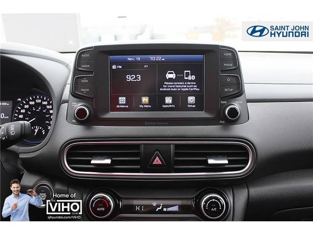 2018 Hyundai KONA 2.0L Luxury (Stk: U1971) in Saint John - Image 14 of 23