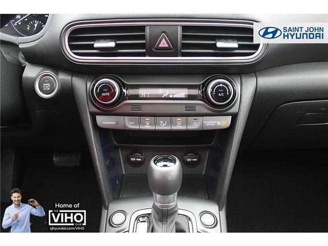 2018 Hyundai KONA 2.0L Luxury (Stk: U1971) in Saint John - Image 16 of 23