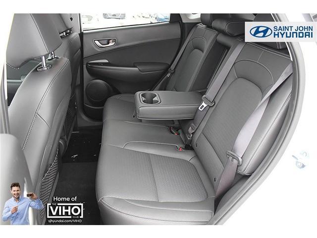 2018 Hyundai KONA 2.0L Luxury (Stk: U1971) in Saint John - Image 20 of 23