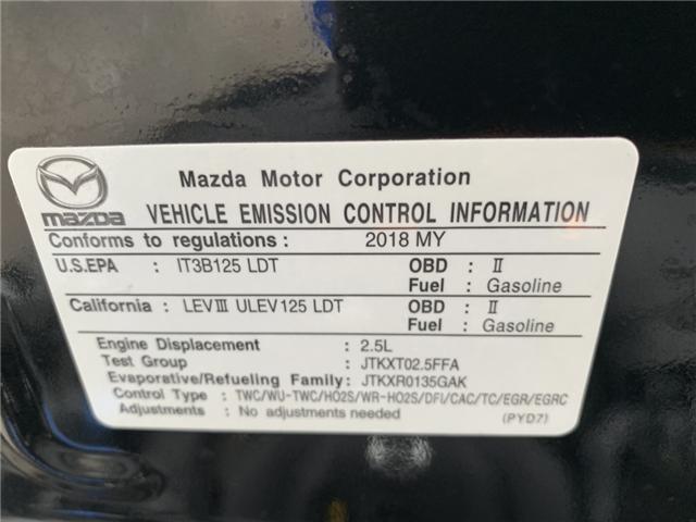 2018 Mazda CX-9 Signature (Stk: J0219237) in Sarnia - Image 30 of 30