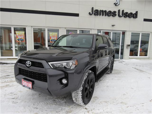 2018 Toyota 4Runner SR5 (Stk: N18377A) in Timmins - Image 1 of 9
