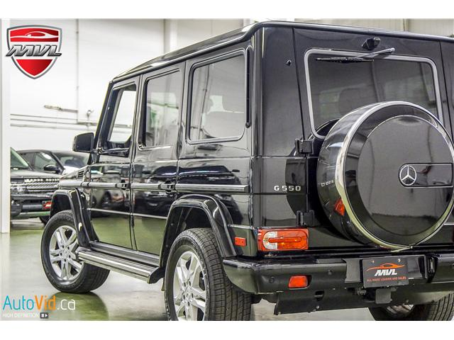 2015 Mercedes-Benz G-Class  (Stk: ) in Oakville - Image 2 of 33