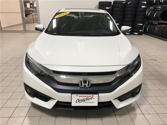 2016 Honda Civic Touring (Stk: H1604) in Steinbach - Image 2 of 7