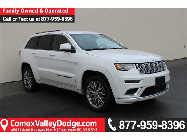 2017 Jeep Grand Cherokee Summit (Stk: C452940A) in Courtenay - Image 1 of 30
